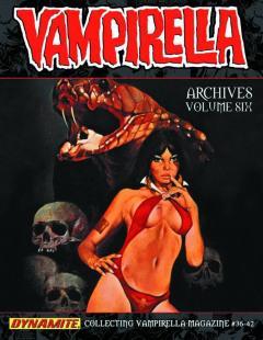 VAMPIRELLA ARCHIVES HC 06