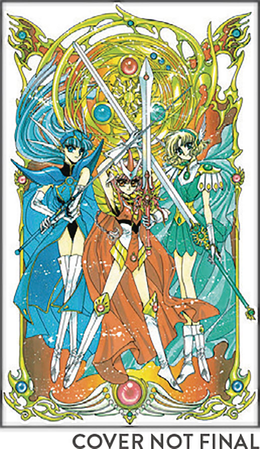 MAGIC KNIGHT RAYEARTH 25TH ANN BOX SET 02
