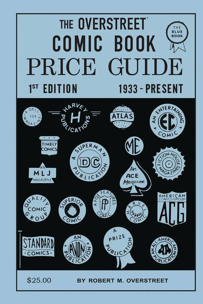 OVERSTREET COMIC BOOK PRICE GUIDE #1 2ND PTG FACSIMILE ED HC