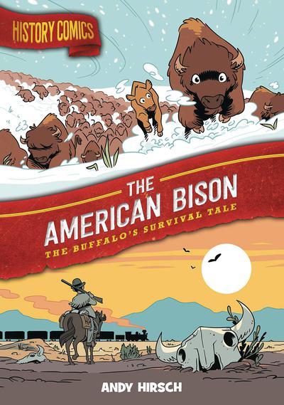 HISTORY COMICS HC AMERICAN BISON