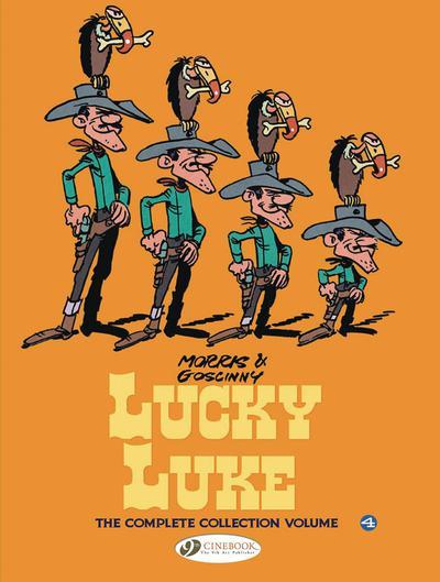 LUCKY LUKE COMPLETE COLL HC 04