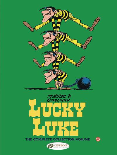 LUCKY LUKE COMPLETE COLL HC 05