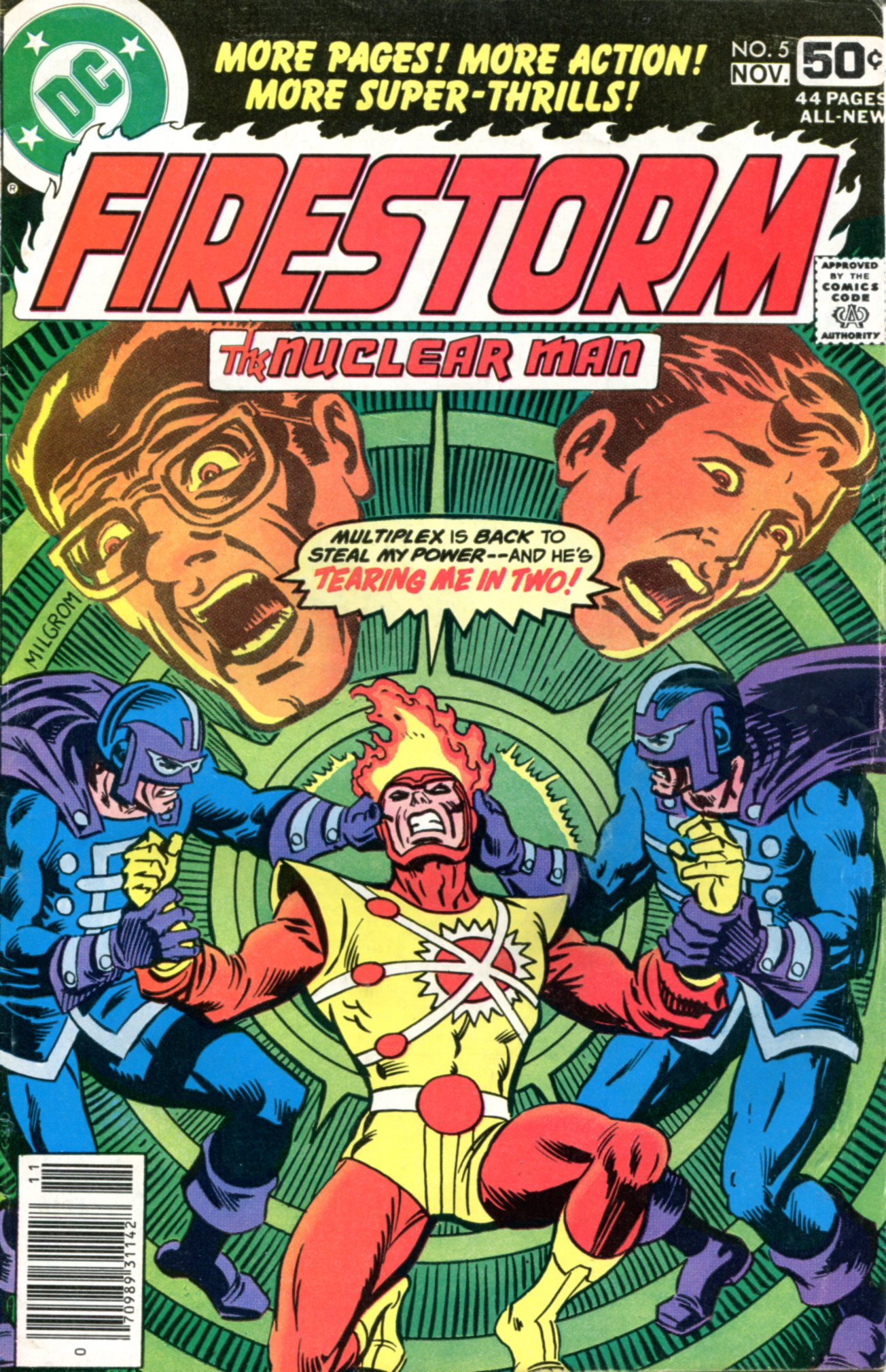 FIRESTORM THE NUCLEAR MAN I (1-5)