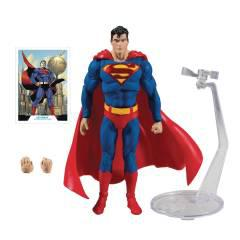 DC BATMAN/SUPERMAN WV1 MOD SUPERMAN 7IN SCALE AF CS