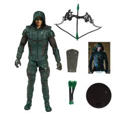 DC MULTIVERSE GREEN ARROW 7IN SCALE AF CS