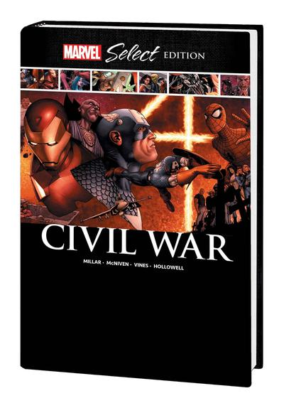 CIVIL WAR MARVEL SELECT HC