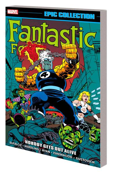 FANTASTIC FOUR EPIC COLLECTION TP 23 NOBODY GETS OUT ALIVE