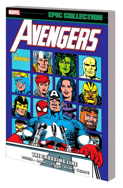 AVENGERS EPIC COLLECTION TP 20 CROSSING LINE