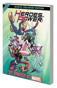 HEROES POWER WOMEN MARVEL ALL NEW MARVEL TREASURY ED TP