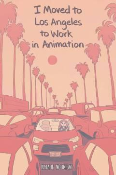 I MOVED TO LOS ANGELES WORK ANIMATION ORIGINAL TP