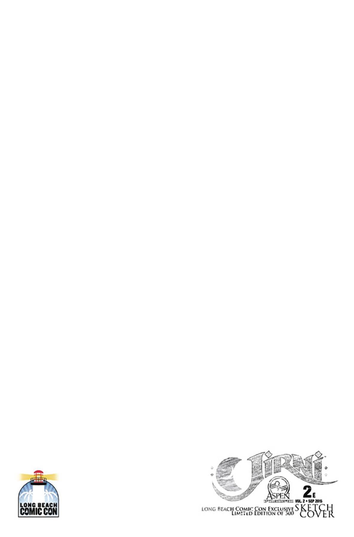 JIRNI VOL 2 LONG BEACH COMIC CON 2015 SKETCH VAR