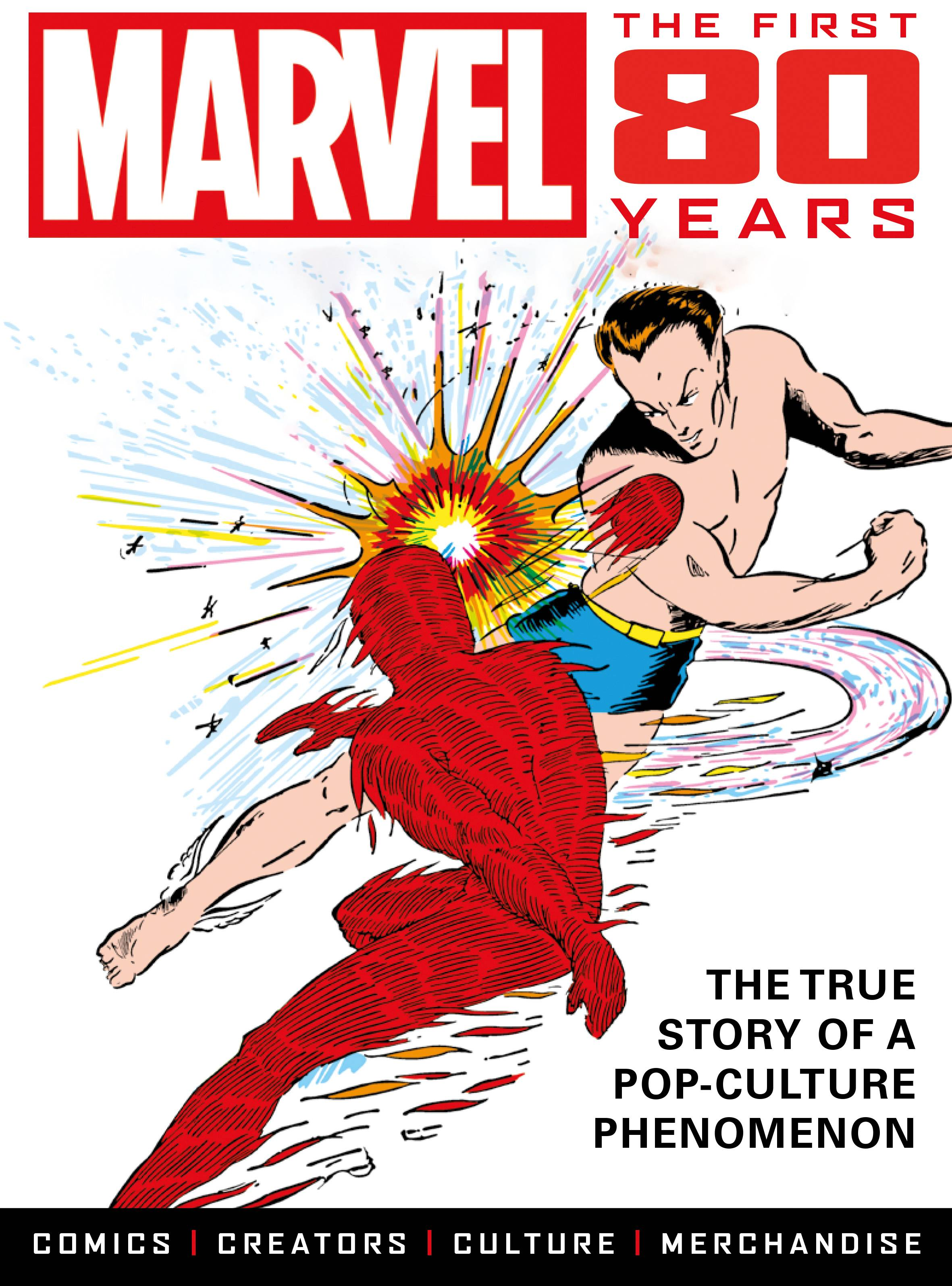 MARVEL COMICS FIRST 80 YEARS TP