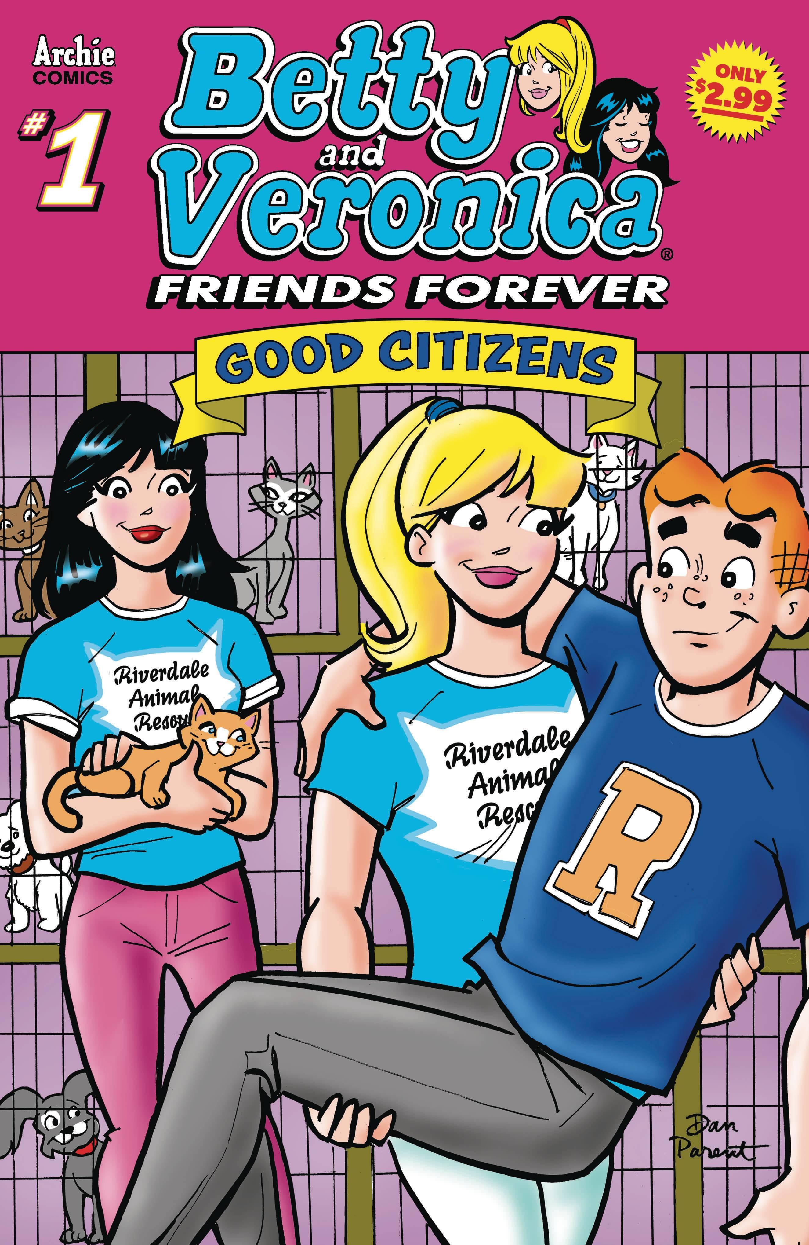 BETTY & VERONICA FRIENDS FOREVER GOOD CITIZEN