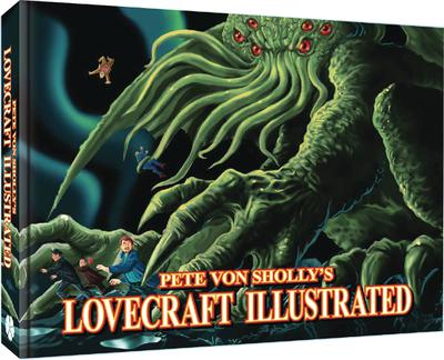 PETE VON SHOLLY LOVECRAFT ILLSTRATED SC