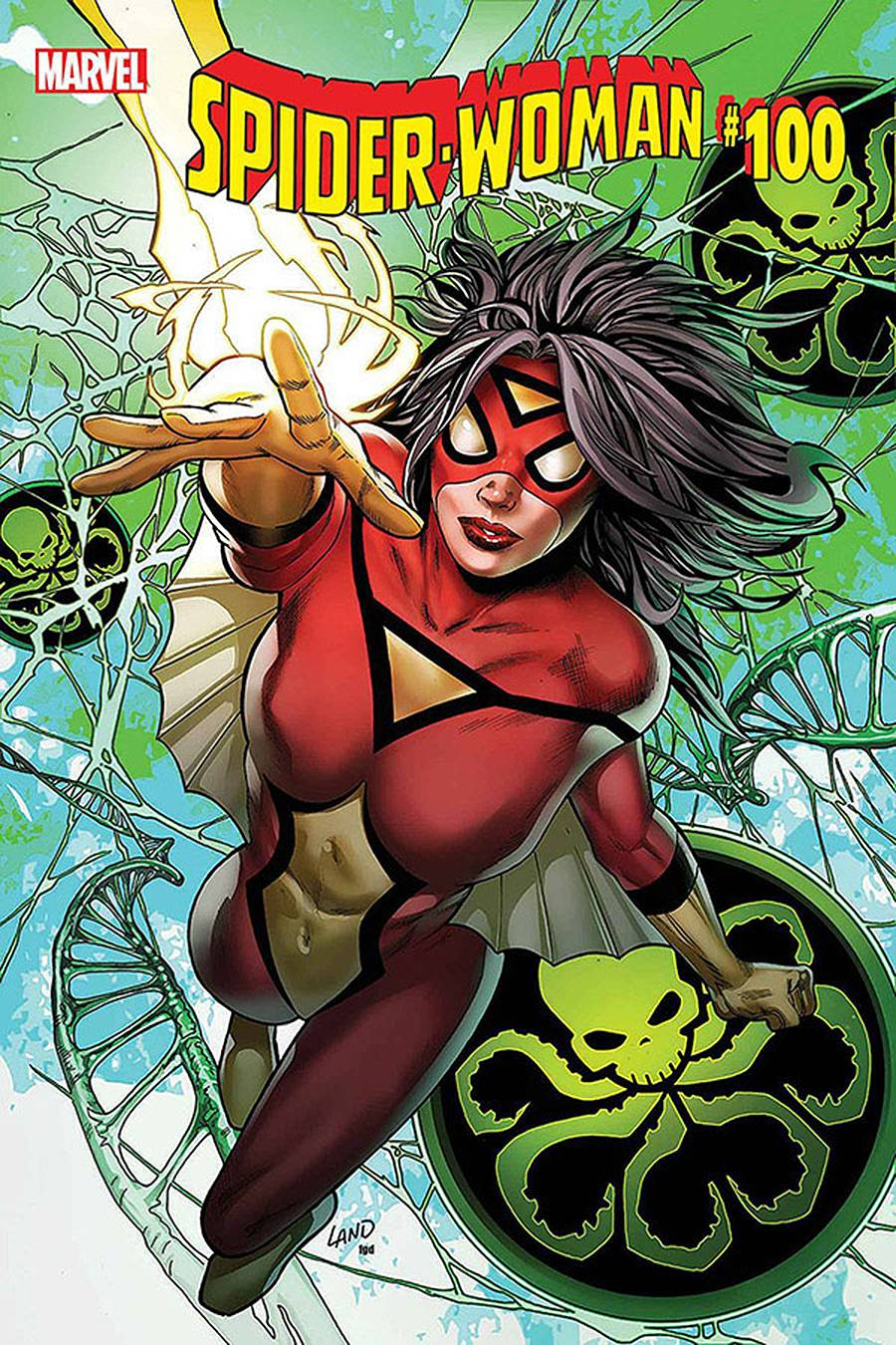 SPIDER-WOMAN #5 (LEGACY #100) LAND SGN