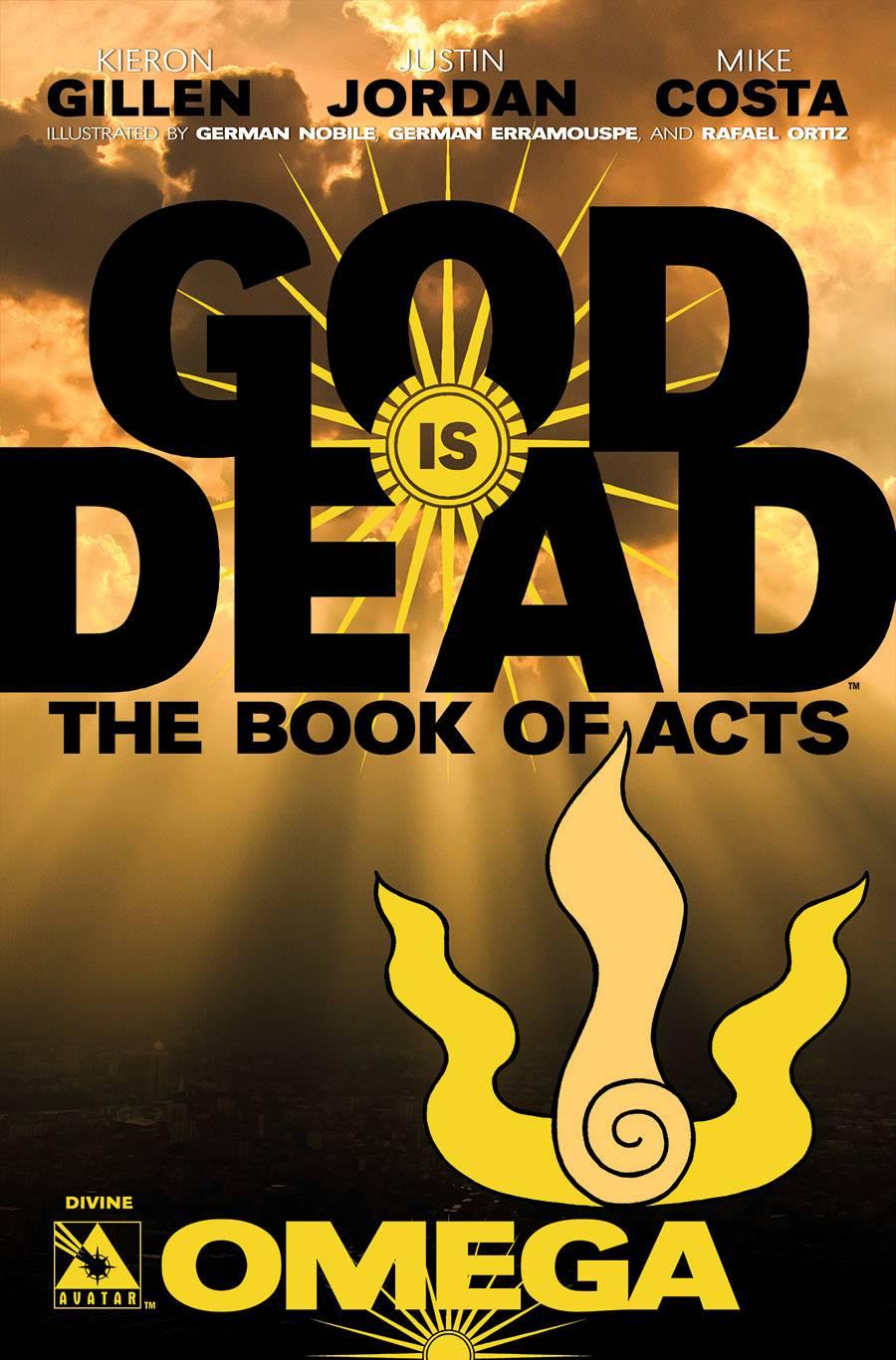 GOD IS DEAD BOOK OF ACTS DIVINE VAR