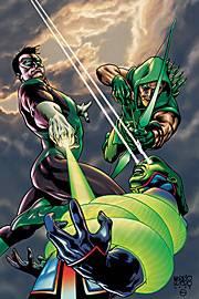 Green Lantern appears