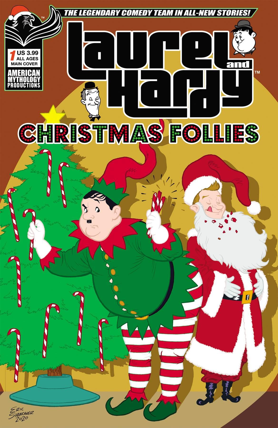 LAUREL & HARDY CHRISTMAS FOLLIES