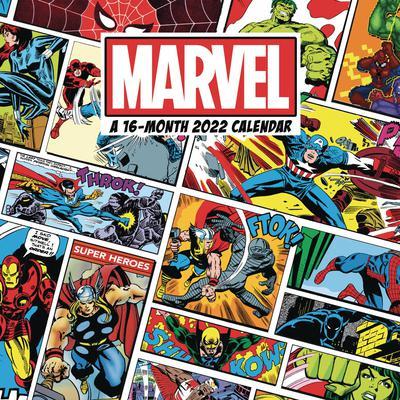 MARVEL COMICS 2022 16 MONTH WALL CALENDAR