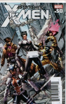 DF ASTONISHING X-MEN PERKINS SGN CVR