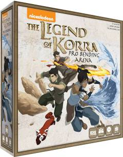 LEGEND OF KORRA PRO BENDING ARENA GAME