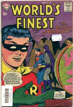 WORLDS FINEST COMICS (2-323)