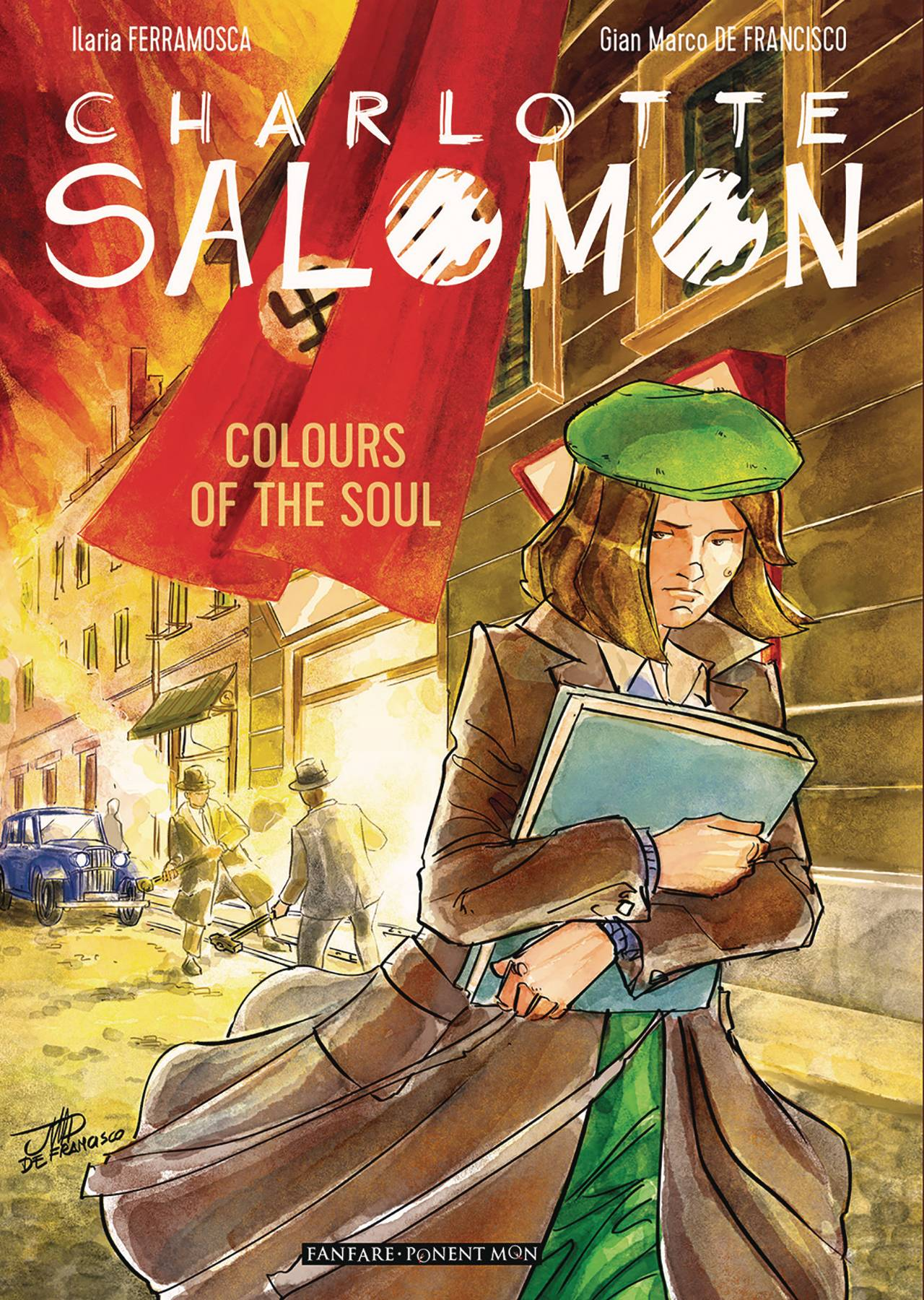 CHARLOTTE SALOMON COLORS OF THE SOUL TP