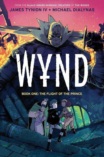 WYND HC 01 FLIGHT OF THE PRINCE