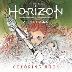 OFFICIAL HORIZON ZERO DAWN MOMOKO COLORING BOOK TP