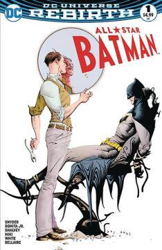 DF ALL STAR BATMAN #1 ROMITA SGN EXC