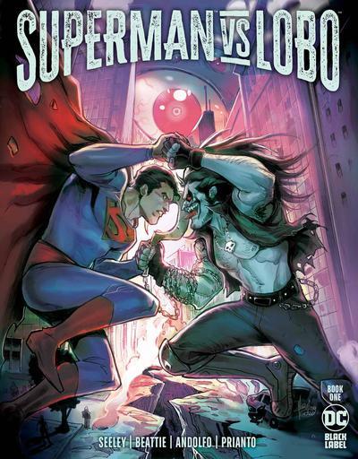 DF SUPERMAN VS LOBO #1 SEELEY & BEATTIE SGN
