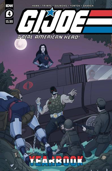 GI JOE A REAL AMERICAN HERO YEARBOOK