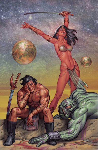 DEJAH THORIS VS JOHN CARTER OF MARS LINSNER LTD VIRGIN
