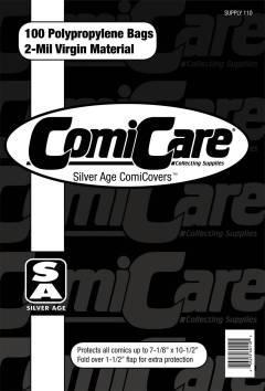 COMIC BAGS SILVER AGE CC Polypropylene