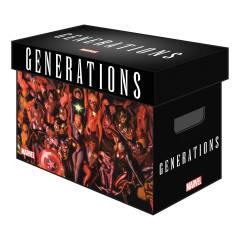 MARVEL GRAPHIC COMIC BOX GENERATIONS