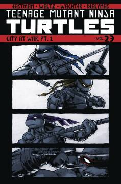 TMNT ONGOING TP 23 CITY AT WAR PT 2
