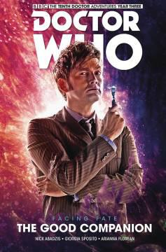 DOCTOR WHO 10TH FACING FATE HC 03 GOOD COMPANION