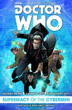 DOCTOR WHO SUPREMACY OF CYBERMEN HC