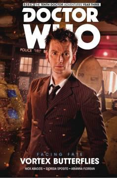 DOCTOR WHO 10TH FACING FATE HC 02 VORTEX BUTTERFLIES
