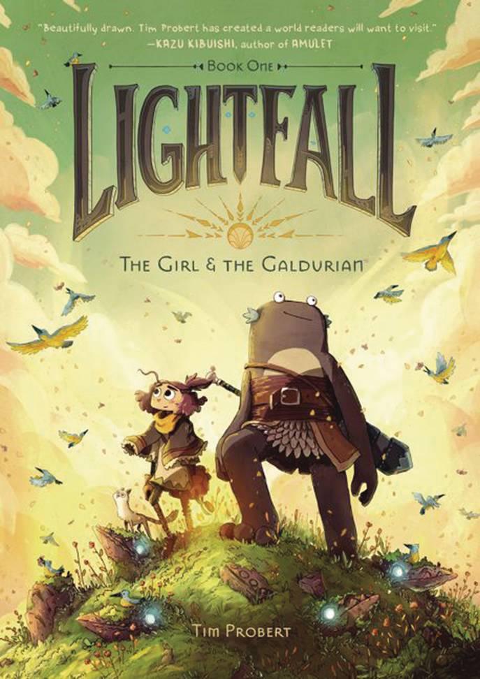 LIGHTFALL HC 01 GIRL & GALDURIAN