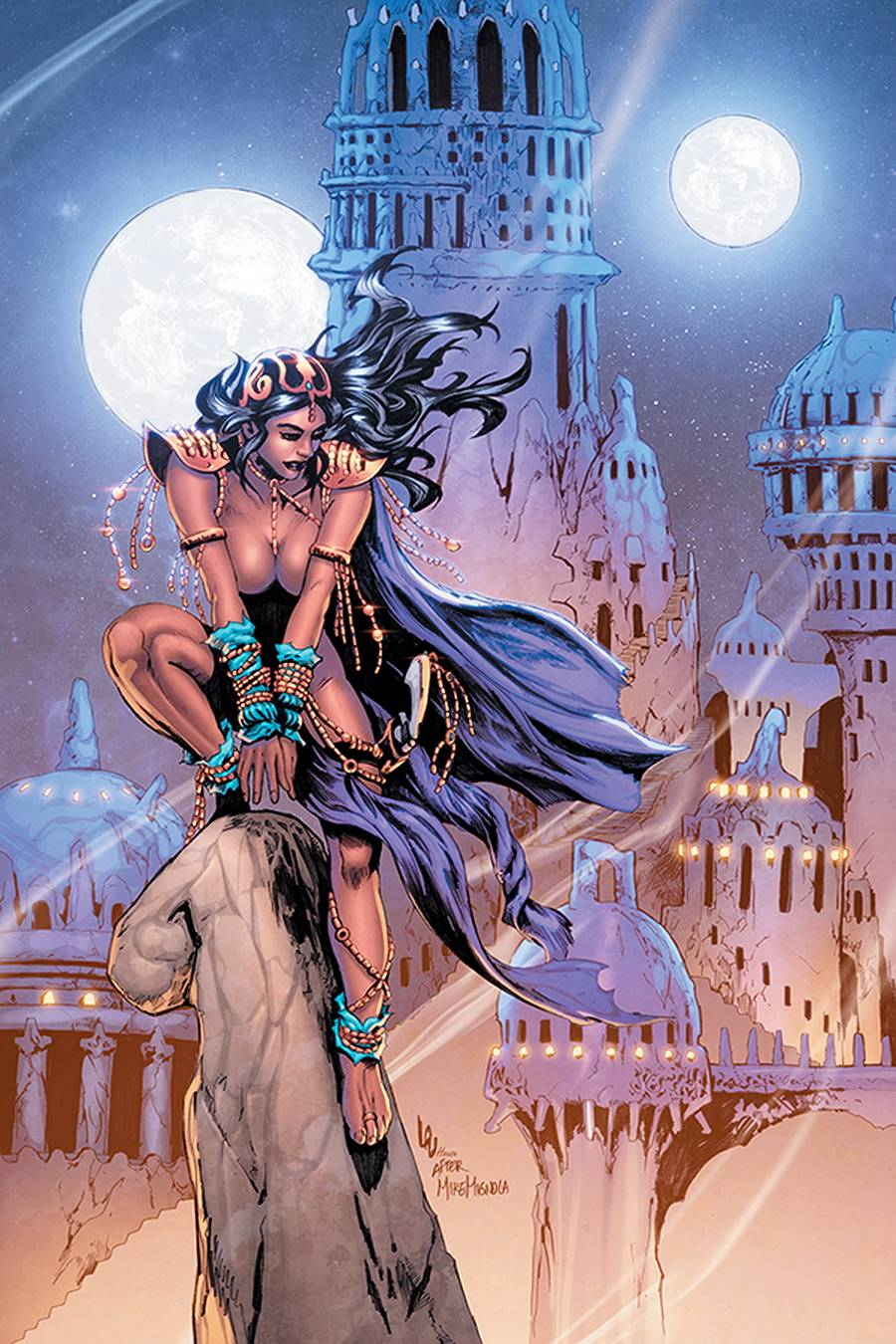 DEJAH THORIS (2019) LAU LTD HOMAGE VIRGIN CVR