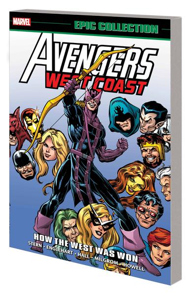 AVENGERS WEST COAST EPIC COLLECTION TP 01 HOW THE WEST WAS WON