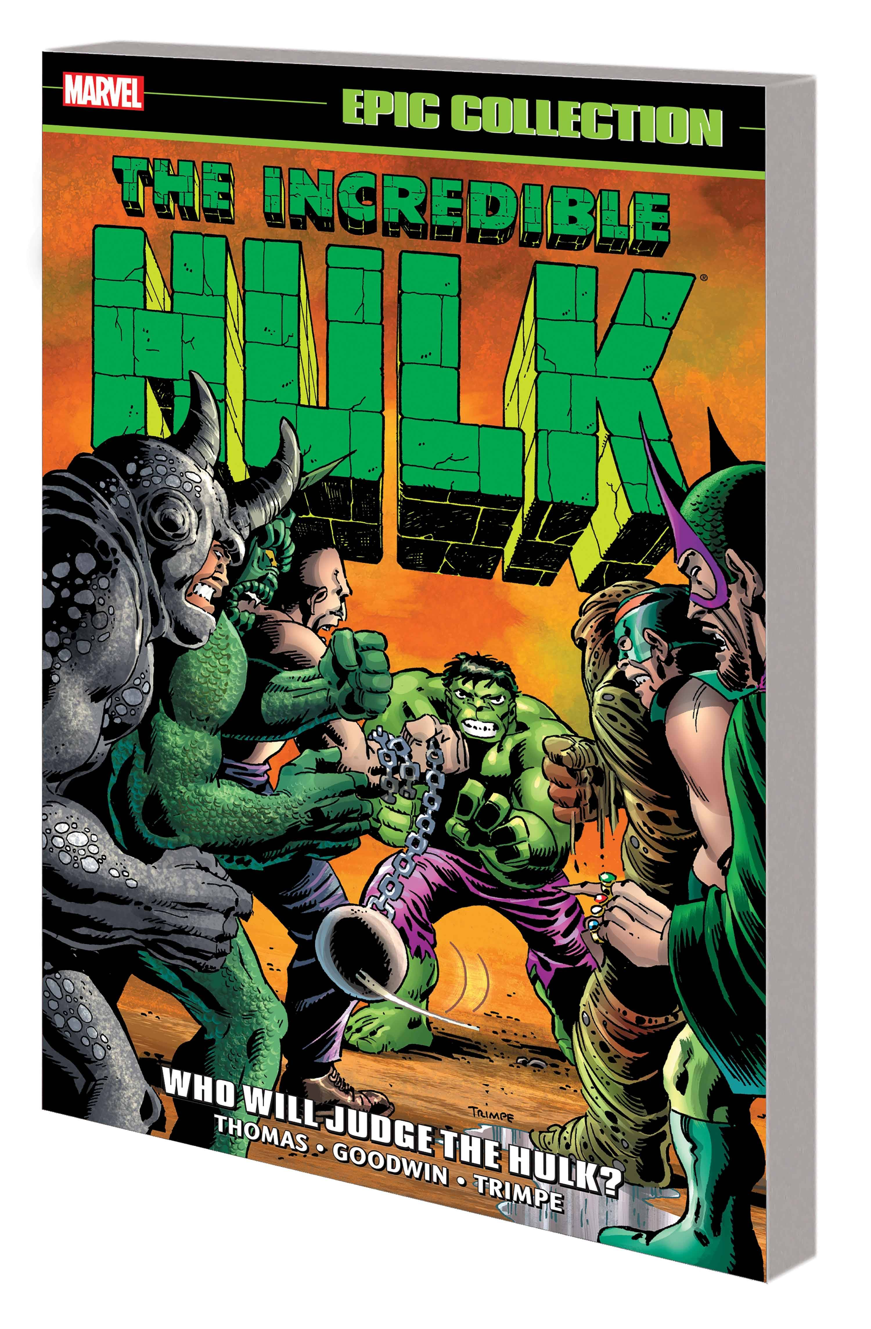 INCREDIBLE HULK EPIC COLLECTION TP 05 WHO WILL JUDGE THE HULK
