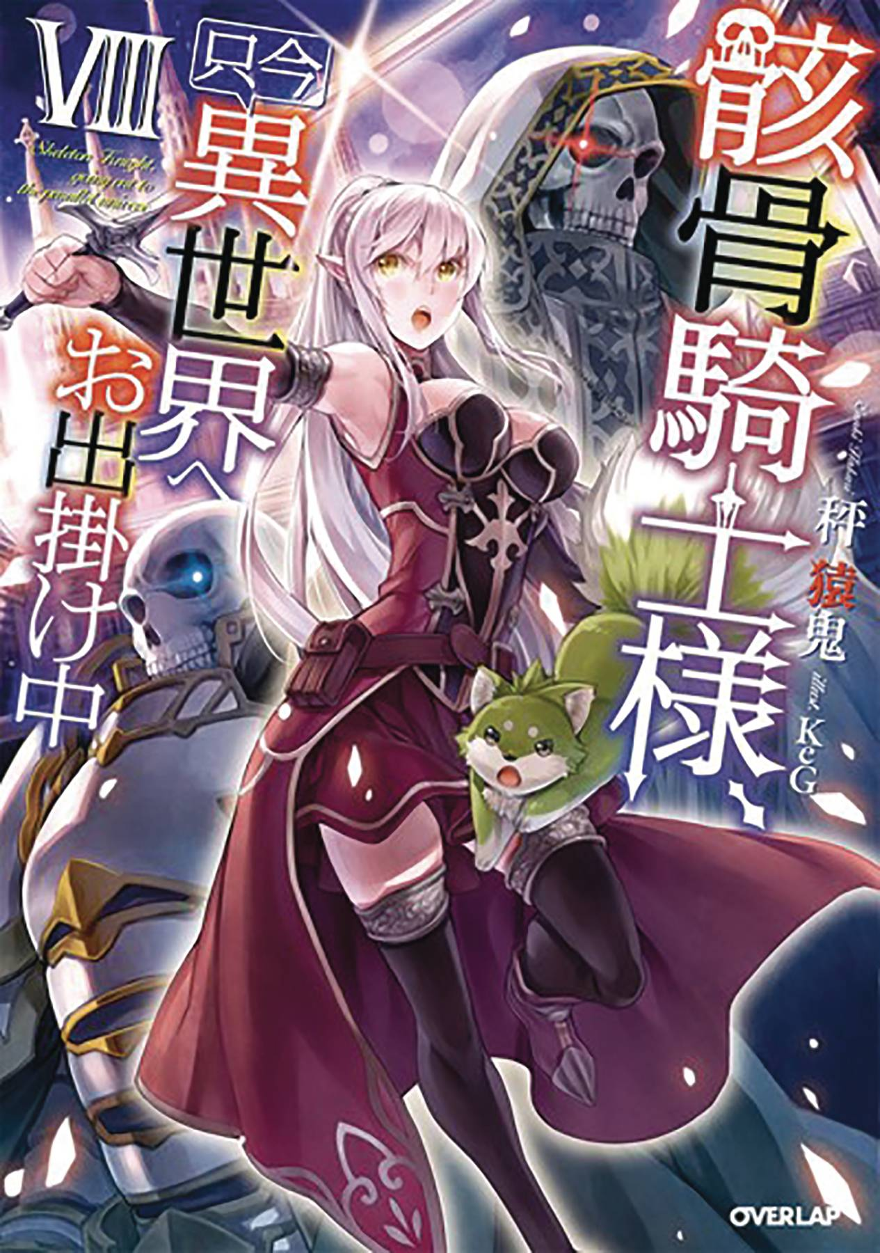 SKELETON KNIGHT IN ANOTHER WORLD LIGHT NOVEL 08