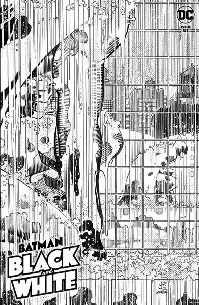 DF BATMAN BLACK & WHITE #6 SNYDER SGN