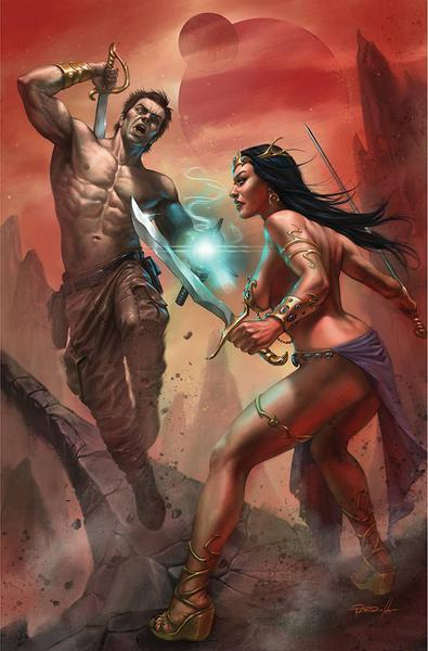 DEJAH THORIS VS JOHN CARTER OF MARS CVR L PARRILLO LTD VIRGIN