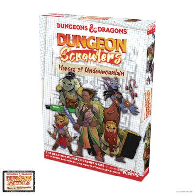 D&D DUNGEON SCRAWLERS BOARD GAME