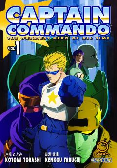 CAPTAIN COMMANDO GN 01
