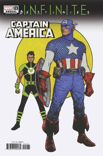 CAPTAIN AMERICA ANNUAL 2021