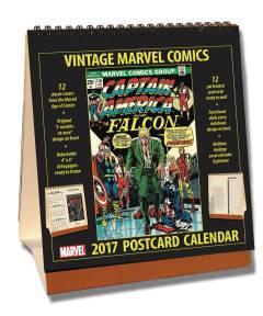 VINTAGE DC COMICS 2017 DESKTOP CALENDAR